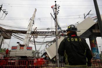 Inician hoy trabajos de limpieza en zona de colapso de Línea 12; CDMX asegura preservar evidencias