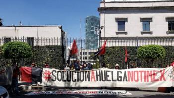 """Señalan presunto """"influyentismo"""": CNDH rechaza quejas de SutNotimex y pide proteger a Sanjuana Martínez"""