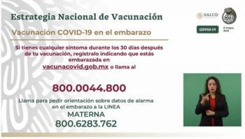 Embarazadas, nuevo grupo prioritario en vacunación ante evidencia de riesgo por Covid-19