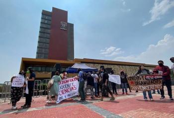 Piden mejorar condiciones laborales de profesores de asignatura en la UNAM
