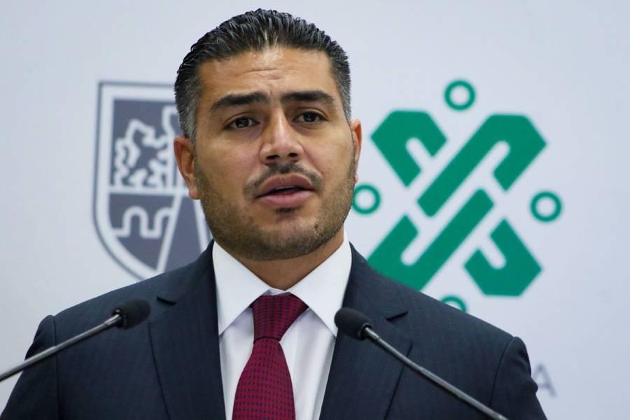 """""""No hay grupo criminal que pueda hacernos frente"""": Omar García Harfuch"""