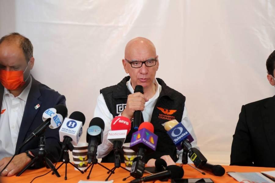 """MC pide que AMLO """"saque las manos"""" de elecciones de NL"""