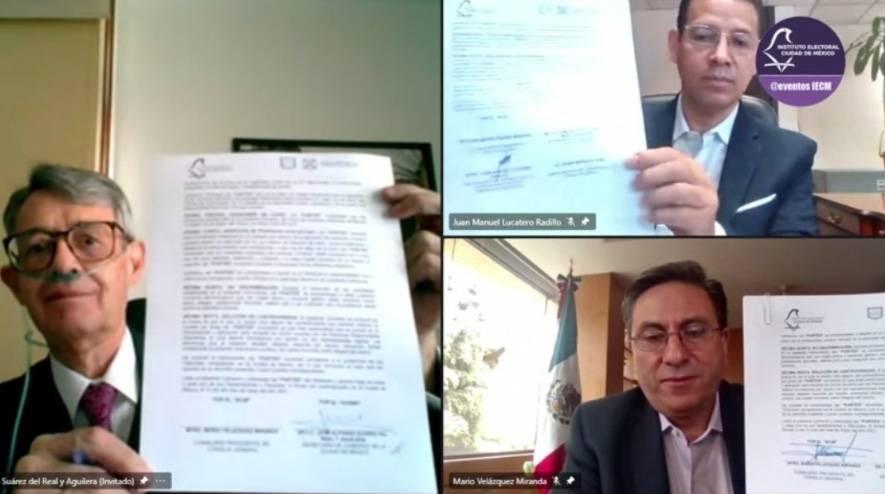 Suman esfuerzos IECM y GobCDMX, rumbo a elecciones locales 2021