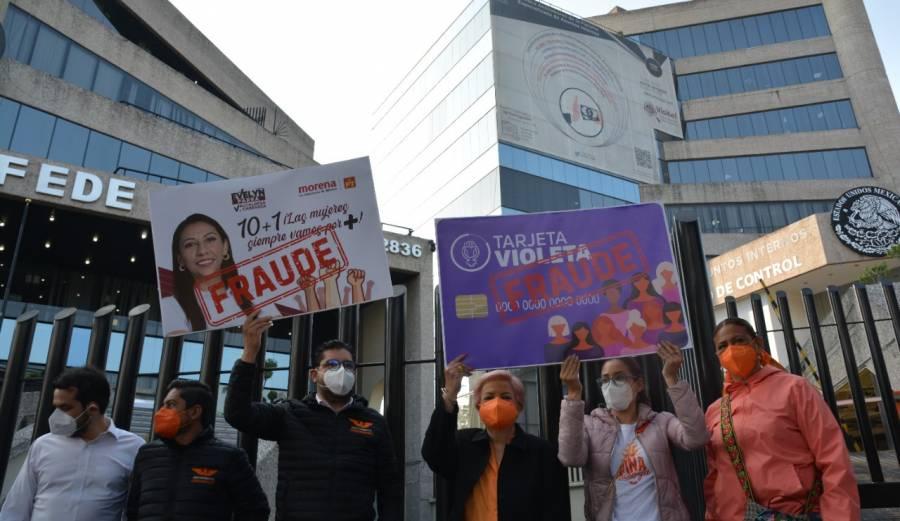 Movimiento Ciudadano denuncia delitos electorales de Morena en Miguel Hidalgo y Venustiano Carranza