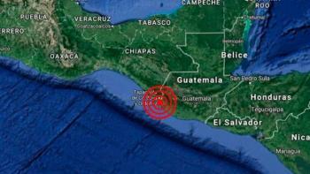 Sismos sacuden a Guatemala