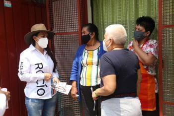 Rocío Barrera auditará programas sociales si gana en Venustiano Carranza