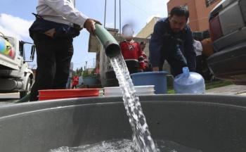 Habrá reducción de agua en la CDMX y Edomex