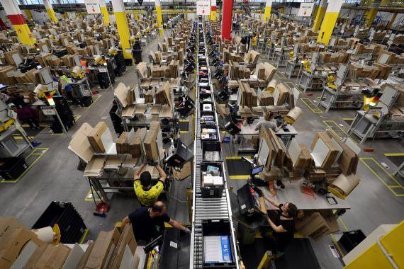 Amazon anuncia la creación de 10,000 puestos de trabajo