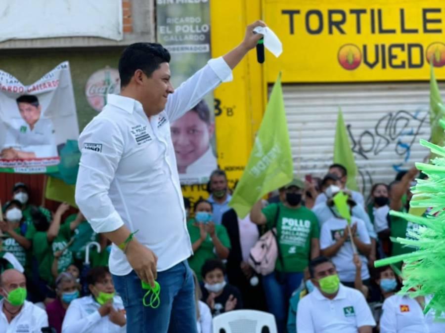 La líder nacional del PVEM asegura que Gallardo es la mejor opción para San Luis Potosí