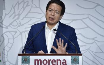 Mario Delgado: coordinador de MC actuó con bajeza, tras acusar a AMLO de responsable por ataque a candidato