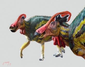 Paleontólogos mexicanos hallan una especie de dinosaurio pacífico y conversador