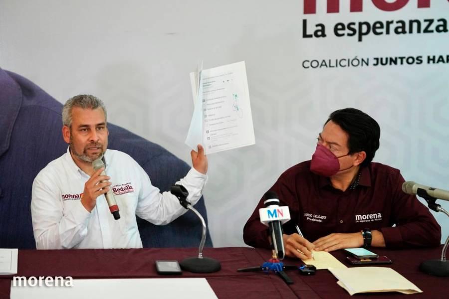 Acusan a gobernador de Michoacán de amenazar a morenistas