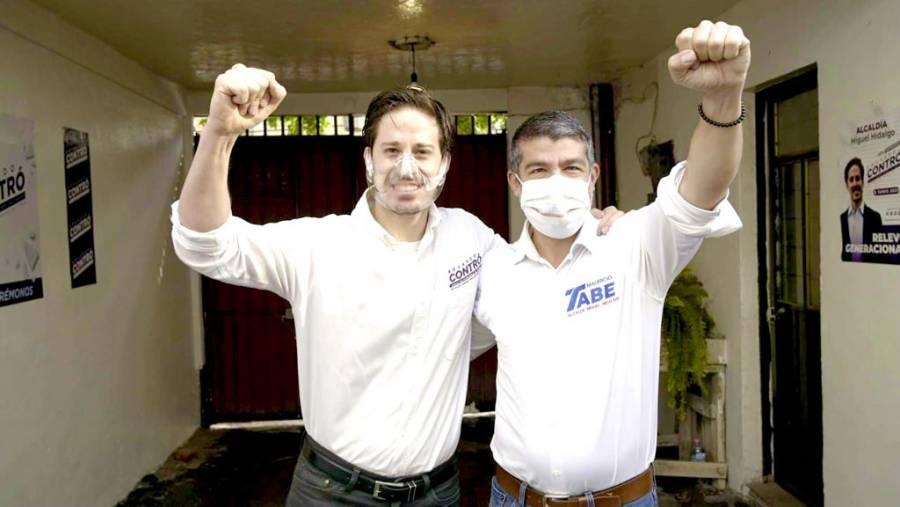 El candidato independiente Eduardo Contró se suma a la candidatura de Mauricio Tabe