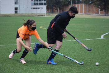 Equipos mexiquenses de hockey sobre pasto, intensifican preparación para juegos nacionales CONADE
