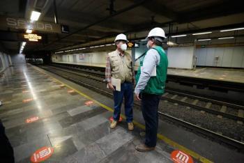 Avanza en 88%, revisión de tramo subterráneo de la Línea 12