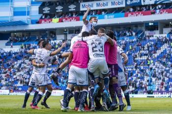"""Miguel Barbosa celebra el triunfo del Puebla en estos """"tiempos complicados"""""""