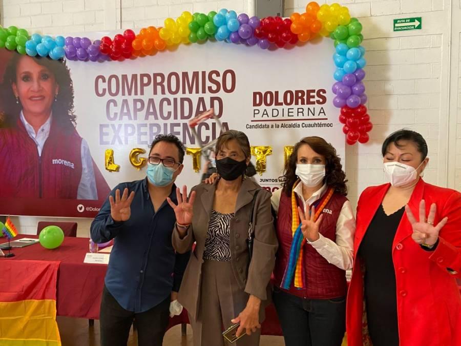 Dolores Padierna crearía Unidad de la Diversidad Sexual  en Cuauhtémoc