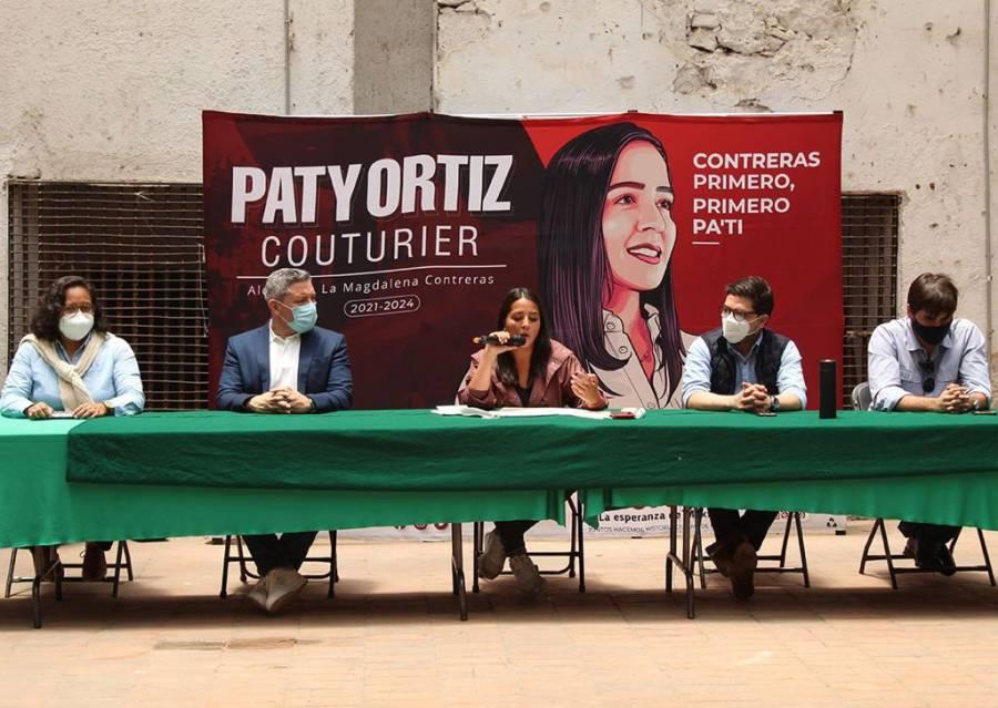 Habrá internet gratis en Magdalena Contreras, dice Patricia Ortiz