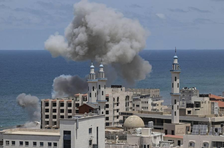 Bombardeos israelíes continúan en Gaza, tras 200 muertos en una semana