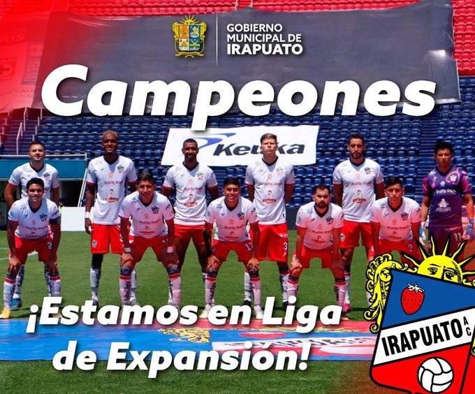 Irapuato asciende a la Liga de Expansión, deja en el camino a Cruz Azul Hidalgo