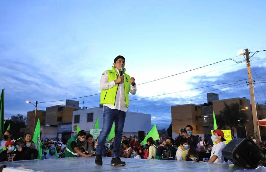 El PRIAN quiere mantener sus lujos y privilegios: Ricardo Gallardo