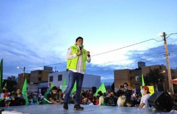 FEPADE tendrá mucho trabajo en SLP, asegura el diputado federal del PT Héctor Serrano Cortés