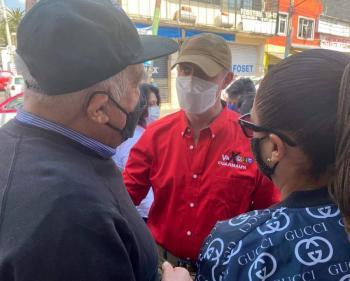 Rubalcava invitó a los cuajimalpenses a seguir trabajando juntos para mejorar Cuajimalpa