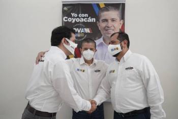 Giovanni Gutiérrez alista nueva estrategia de servicios y seguridad; a su campaña se suma fundador de Morena