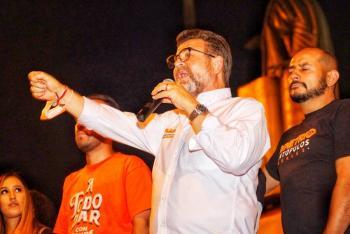 Ricardo Bours, candidato de MC al gobierno de Sonora, se une a Ernesto Gándara del PRI