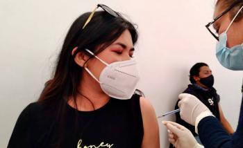 Profesores en el Estado de México reciben vacuna contra COVID-19