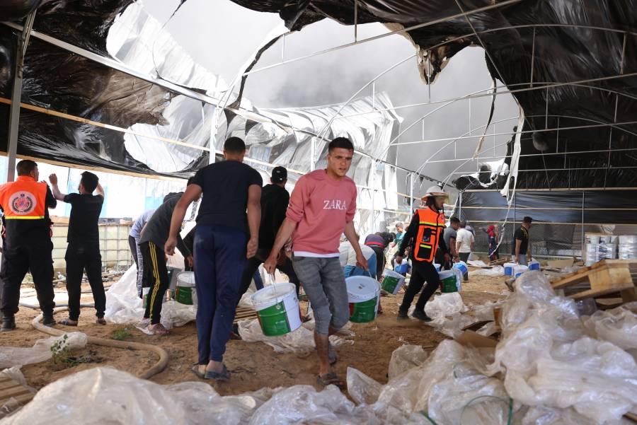 Egipto envía ayuda humanitaria a la Franja de Gaza y promete financiar reconstrucción