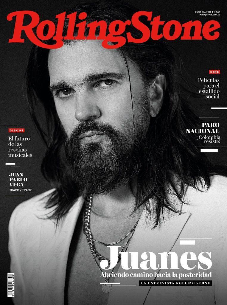 Juanes en la portada de RollingStone Colombia, abre camino a la posteridad
