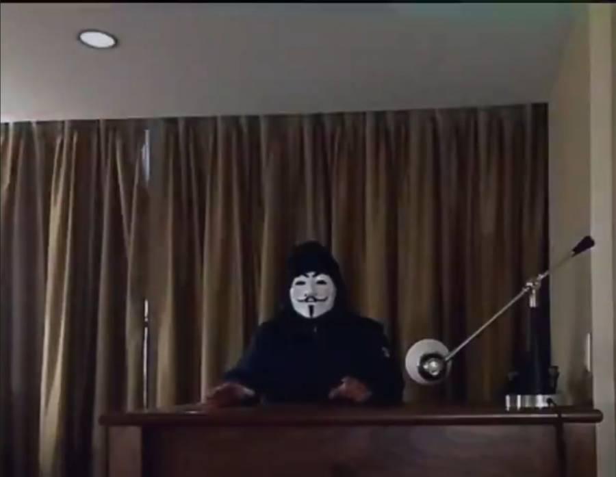 """Anonymous amaga con """"vengarse"""" por tragedia en Línea 12 del Metro y defender las elecciones"""