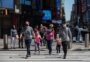 EEUU registra la menor cifra de muertes por COVID-19 desde inicio de pandemia