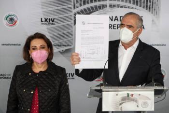Corte refrendó que gobernador de Tamaulipas tiene fuero: senadores del PAN