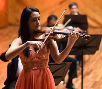Violinista Shari Mason debuta como solista en la Orquesta Sinfónica Mexiquense