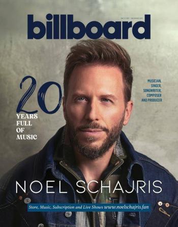 Dedica revista Billboard reportaje especial a Noel Schajris por 20 años de carrera