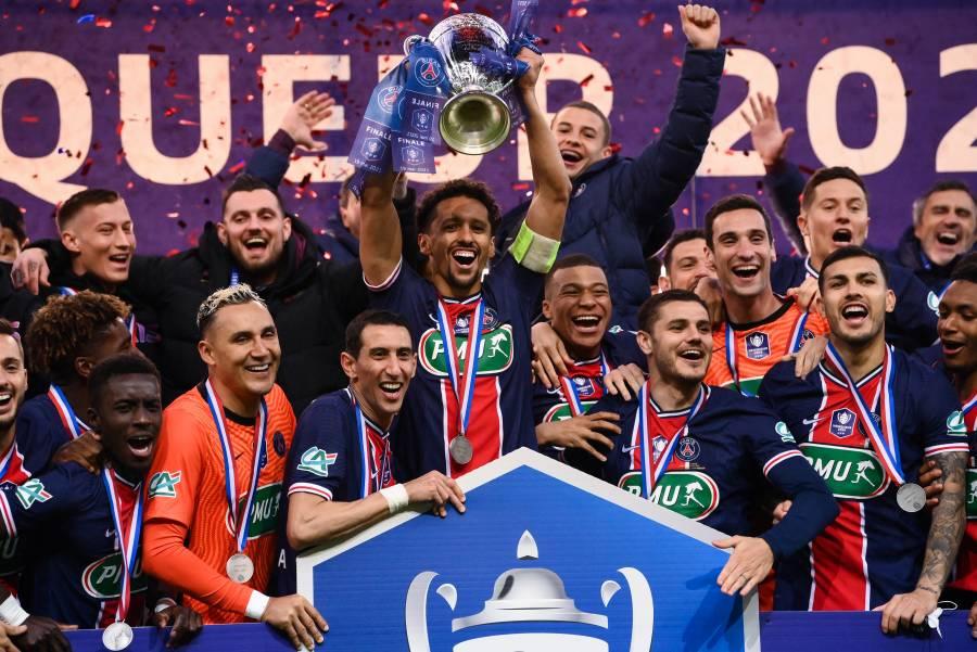 PSG derrota al Mónaco y se alza con la Copa de Francia