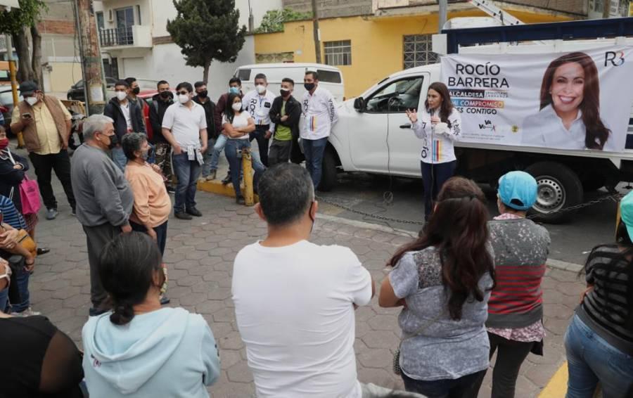 Rocío Barrera propone programa de primer empleo para jóvenes en Venustiano Carranza