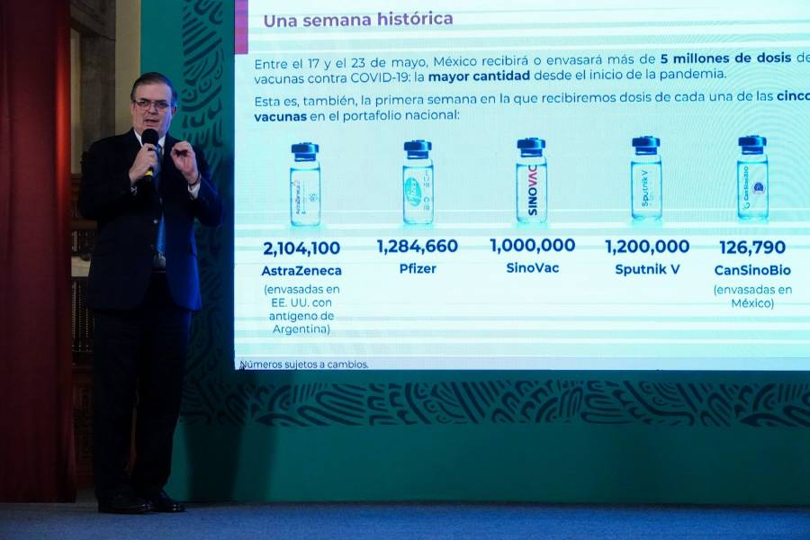México se prepara para recibir un millón de vacunas diarias contra Covid-19 en junio