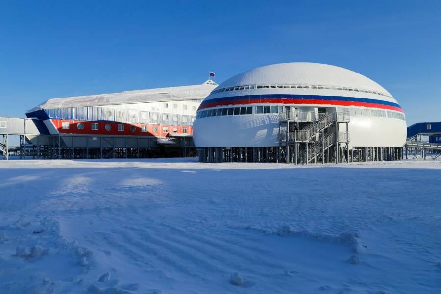 Rusia presume su base militar en el Ártico