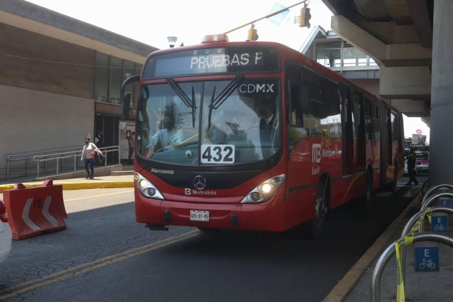 Metrobús de Tláhuac a Atlalilco, será gratuito la próxima semana: Sheinbaum