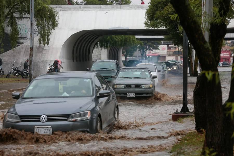 Lluvias intensas provocan afectaciones en 13 municipios de Veracruz