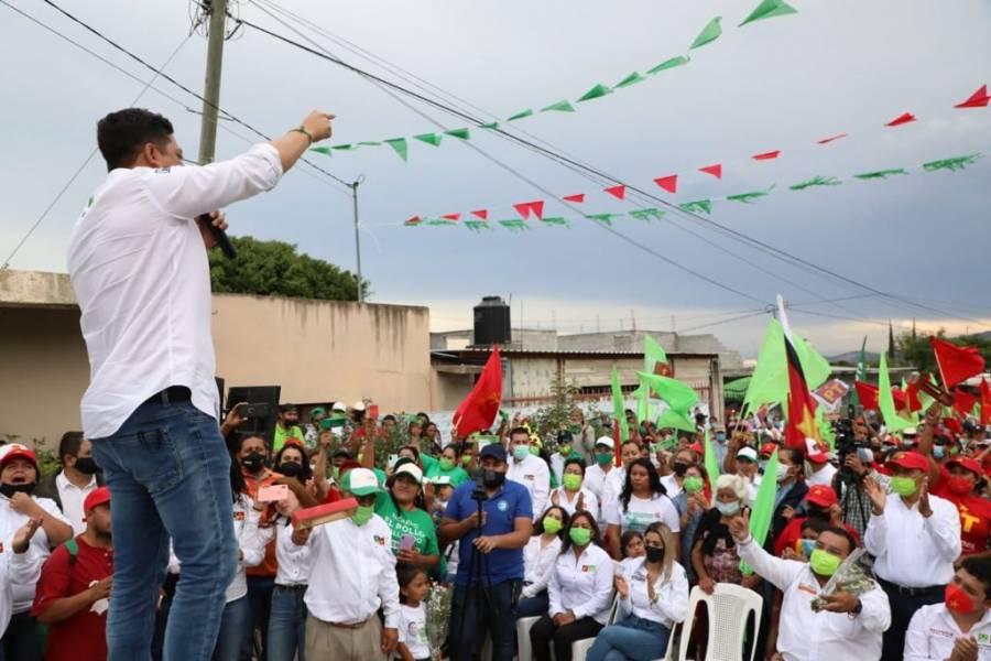 Gallardo se comprometió a cambiar la forma de gobernar en San Luis Potosí