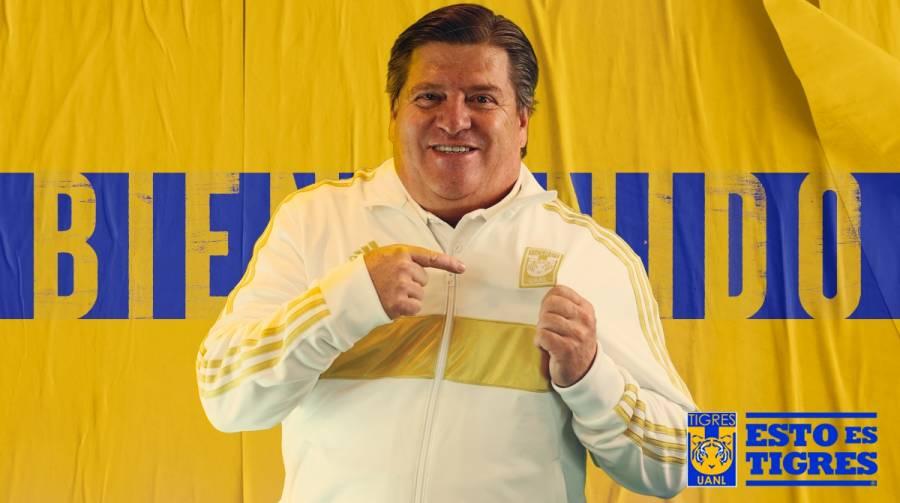 Oficial: Miguel Herrera, nuevo DT de los Tigres