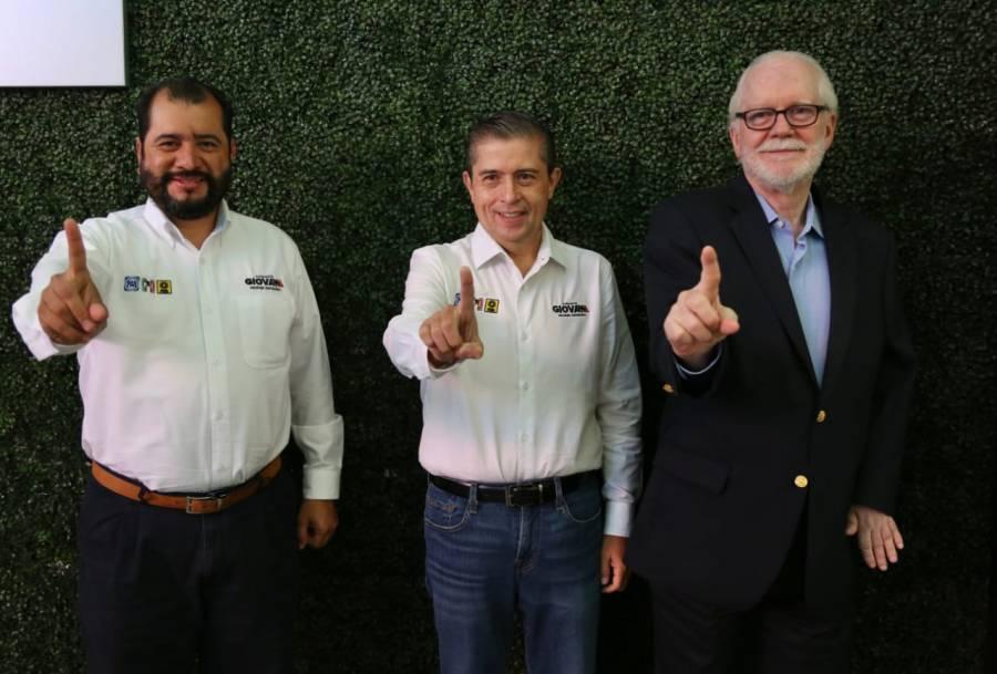 """""""Mensaje muy potente de la izquierda"""" suma de Ricardo Pascoe a campaña de Giovani Gutiérrez"""