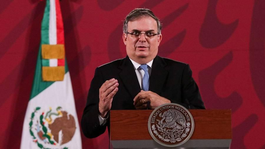 Ebrard: México, atento a alertas internacionales ante orden de aprehensión contra García Cabeza de Vaca