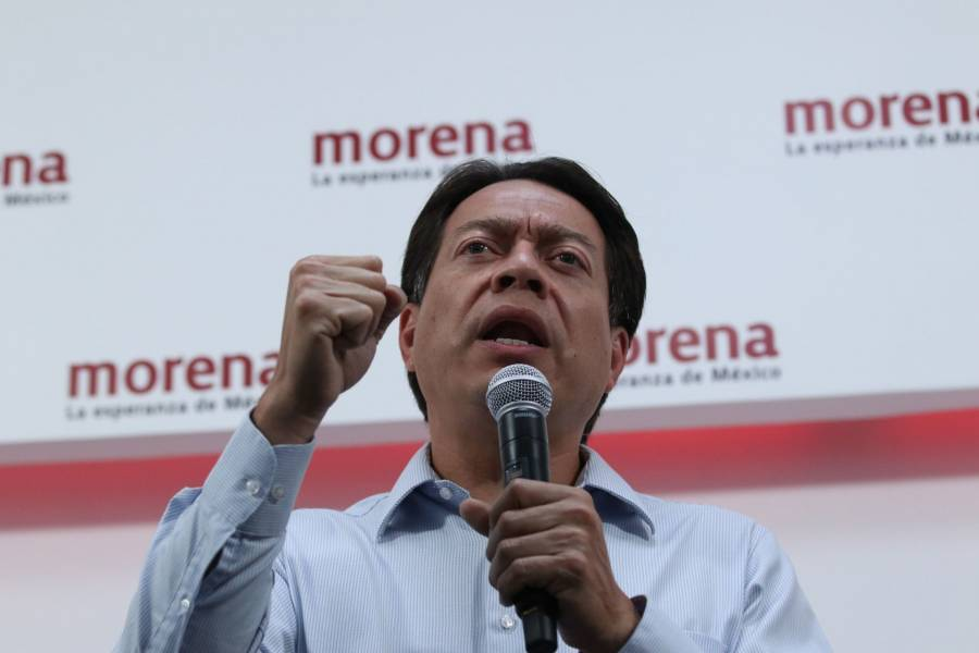 """Mario Delgado acusa """"cacería"""" del INE contra candidatos de Morena"""
