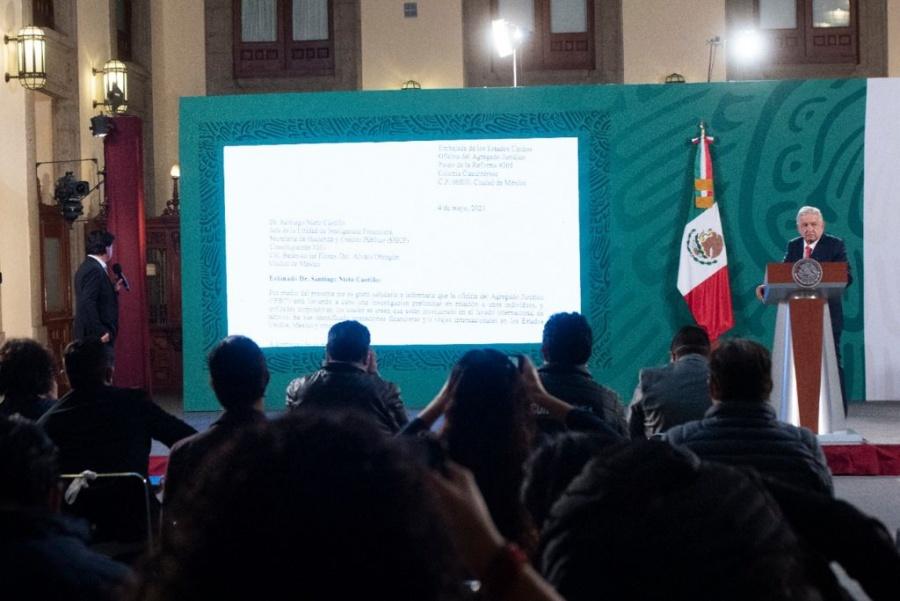Senado puede nombrar gobernador interino y convocar a elecciones en Tamaulipas: AMLO