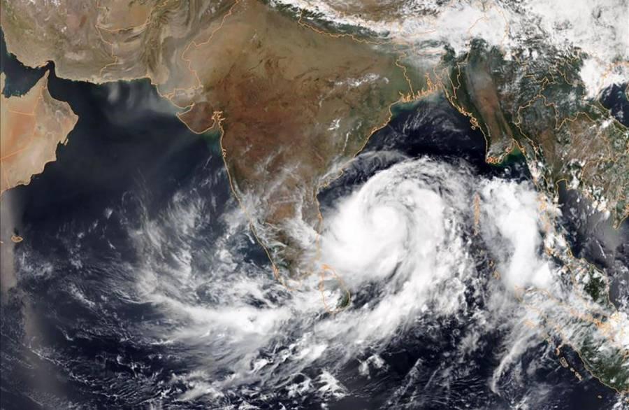 Un nuevo ciclón amenaza la India